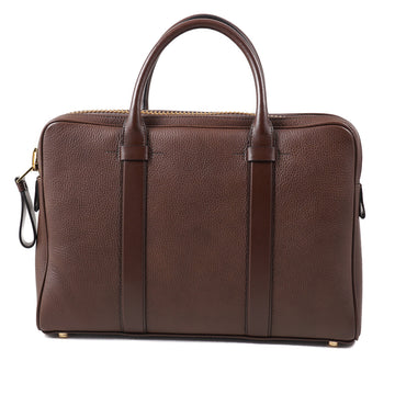 Tom Ford 'Buckley' Slim Briefcase in Medium Brown