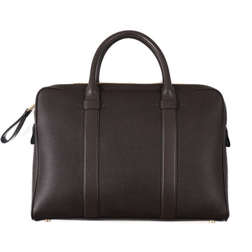 Tom Ford 'Buckley' Slim Briefcase in Dark Brown