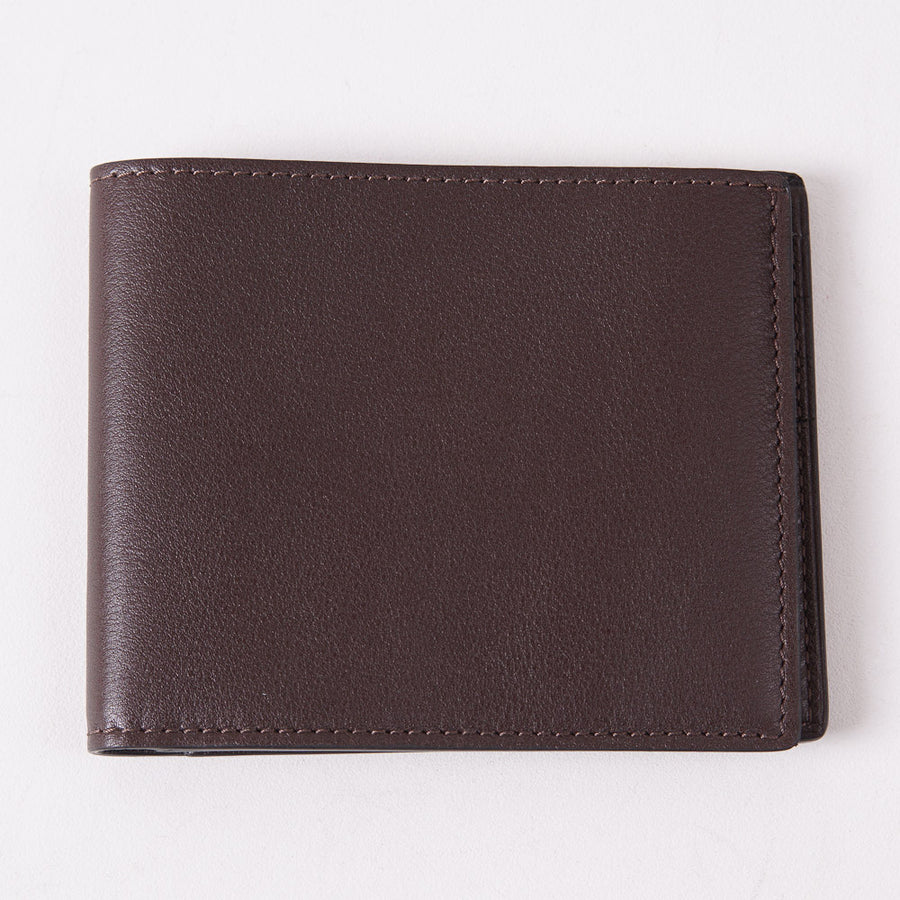 Tom Ford Chocolate Brown Classic Bi-Fold Wallet - Top Shelf Apparel