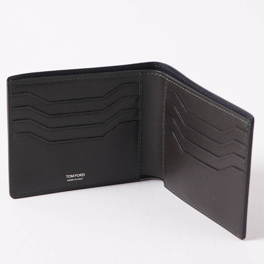 Tom Ford Dark Green Classic Bi-Fold Wallet