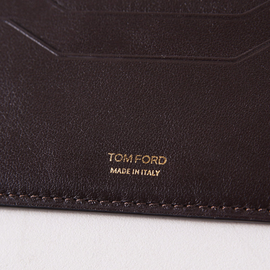 Tom Ford Card Holder ID Wallet in Dark Brown