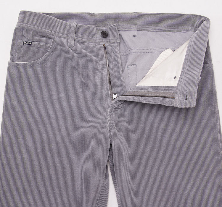 Tom Ford Light Gray Cord Jeans 32W - Top Shelf Apparel - 4