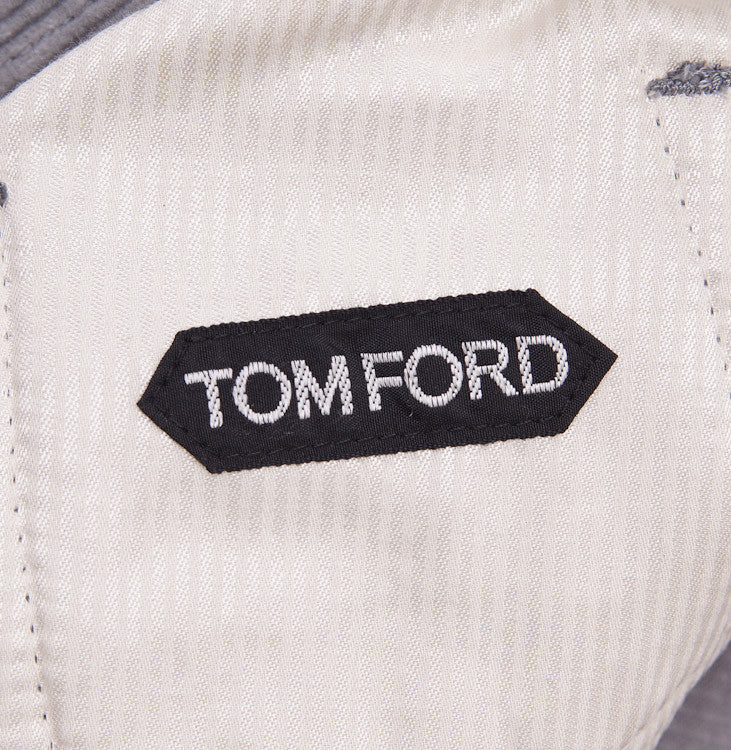 Tom Ford Light Gray Cord Jeans 32W - Top Shelf Apparel - 10