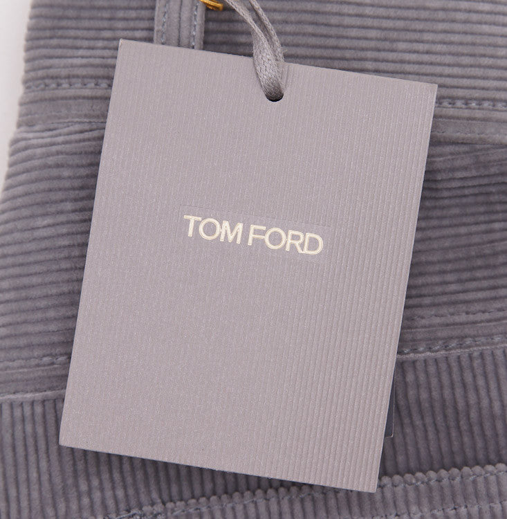 Tom Ford Light Gray Cord Jeans 32W - Top Shelf Apparel - 11