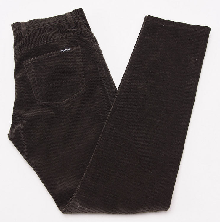 Tom Ford Olive Cord Jeans 32W - Top Shelf Apparel - 1