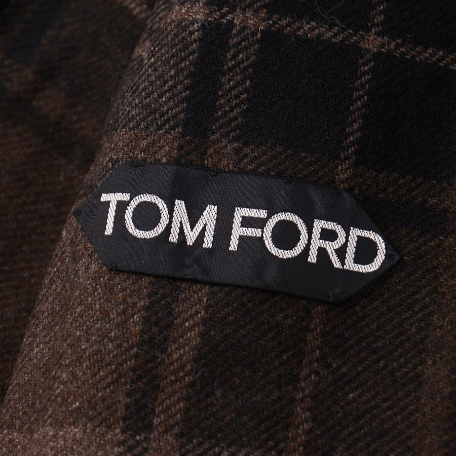 Tom Ford Hooded Parka with Wool-Cashmere Liner