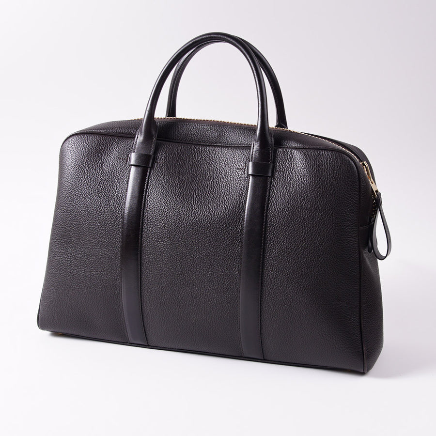 Tom Ford 'Buckley' Brown Leather Hold-All Bag