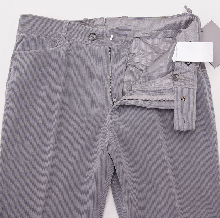 Tom Ford Light Gray Corduroy Pants 32W - Top Shelf Apparel - 5