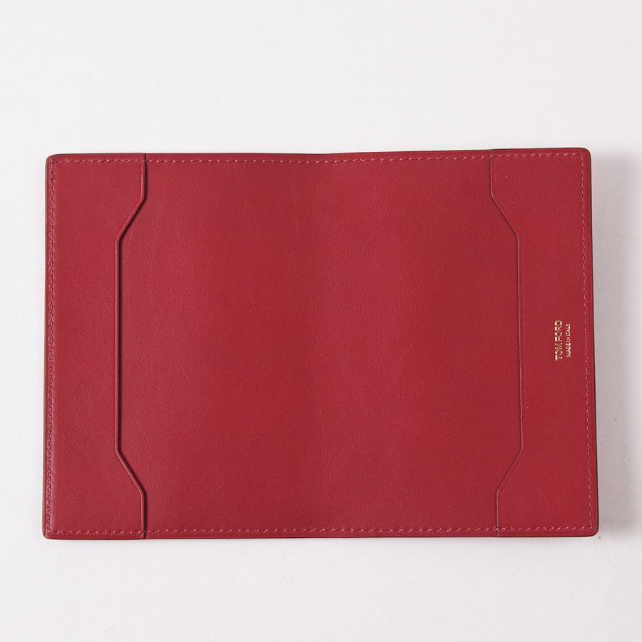 Tom Ford Red Passport Cover