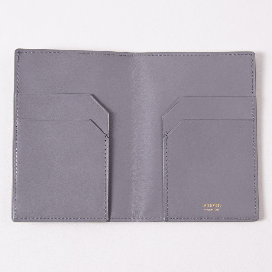 Tom Ford Light Gray Passport Wallet