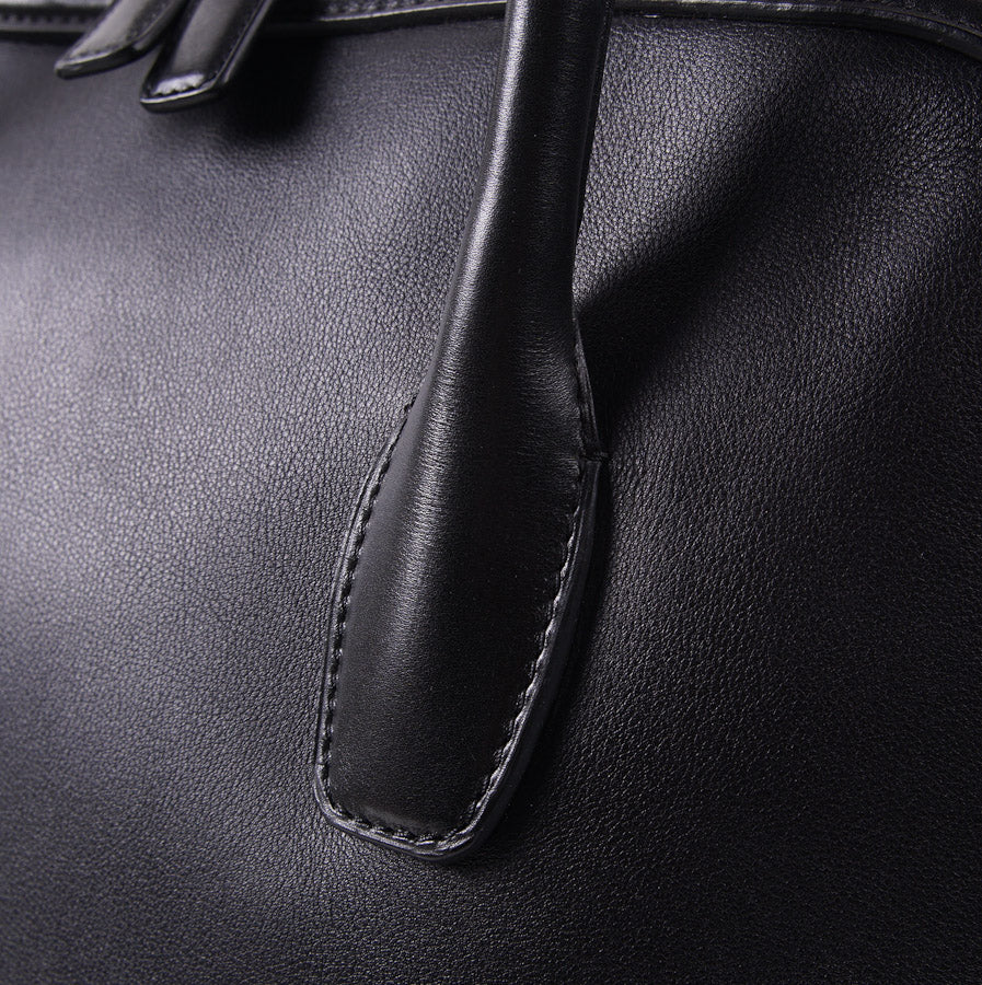 Tom Ford 'Buckley Trapeze' Leather Duffle Bag