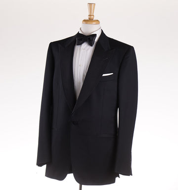 Tom Ford Black Wool and Mohair 'Windsor' Tuxedo