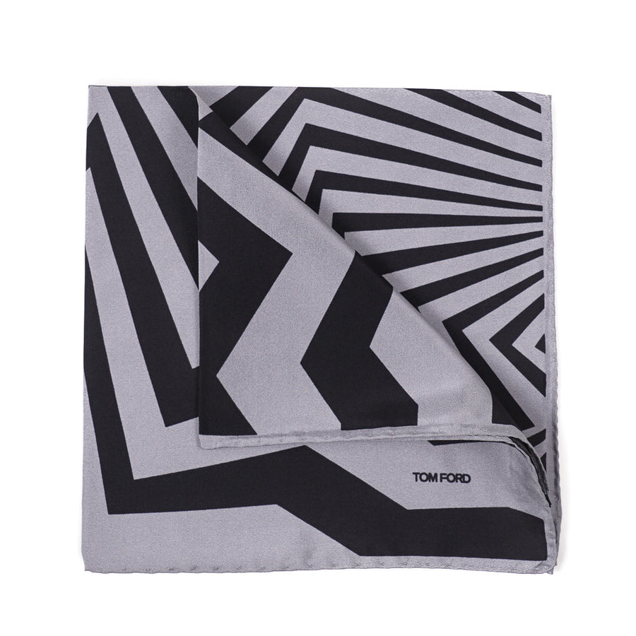 Tom Ford Bold Print Pocket Square
