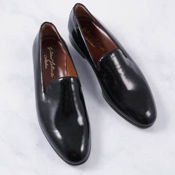 Silvano Lattanzi Polished Leather Formal Loafers