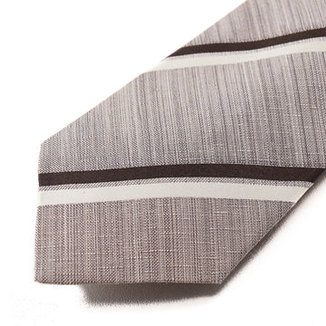 Isaia 7-Fold Silk and Cotton Tie