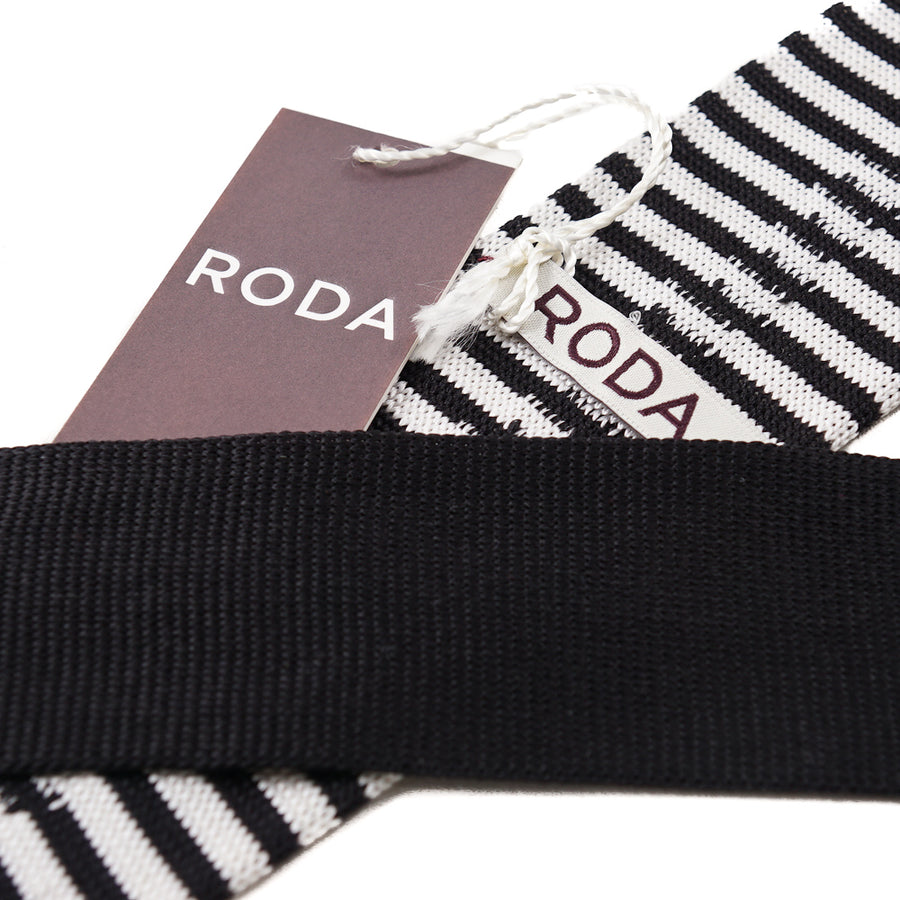 Roda Striped Knit Silk Tie