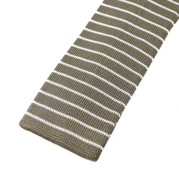 Roda Striped Knit Silk Tie - Top Shelf Apparel