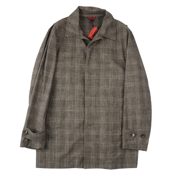 Isaia Lightweight Wool-Silk-Linen Coat