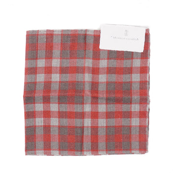 Brunello Cucinelli Linen and Cotton Pocket Square