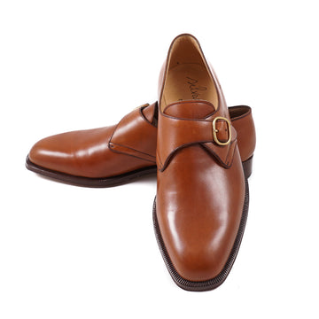 Silvano Lattanzi Monk Strap in British Tan