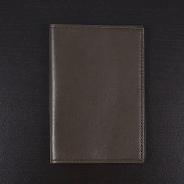 Tom Ford Passport Cover in Olive Leather
