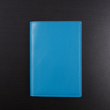 Tom Ford Passport Wallet in Turquoise Leather