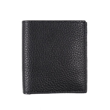 Tom Ford Leather Bi-Fold Wallet in Black