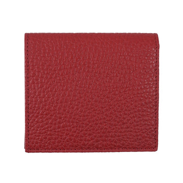 Tom Ford Leather Bi-Fold Wallet in Red
