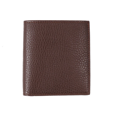 Tom Ford Leather Bi-Fold Wallet in Brown
