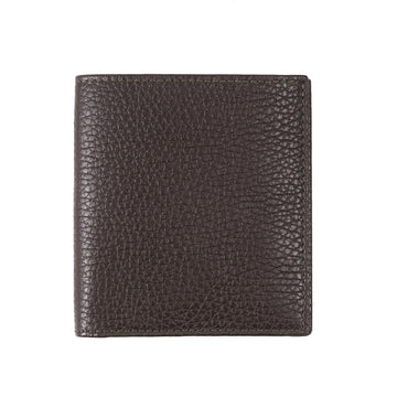 Tom Ford Leather Bi-Fold Wallet in Olive