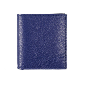 Tom Ford Leather Bi-Fold Wallet in Blue