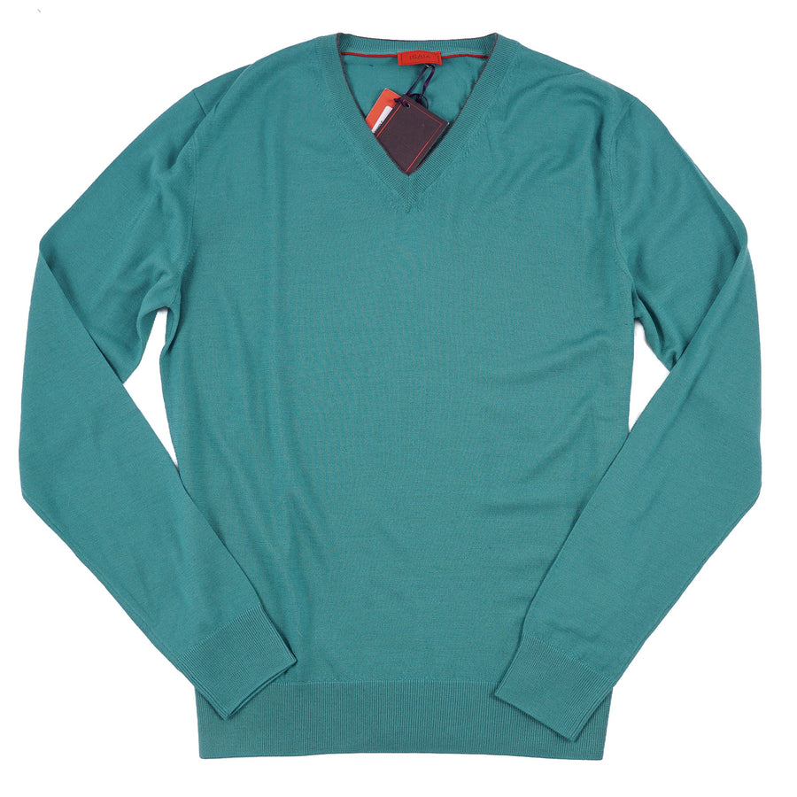 Isaia Slim-Fit Superfine Wool Sweater - Top Shelf Apparel