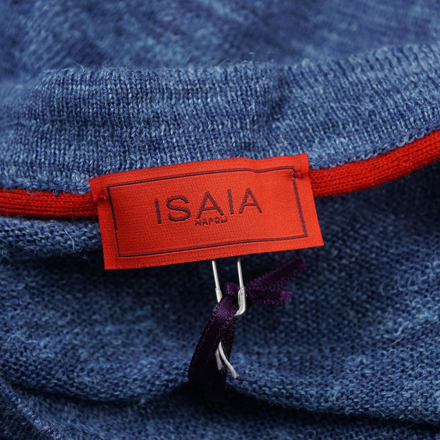 Isaia Lightweight Superfine Silk-Linen Sweater - Top Shelf Apparel