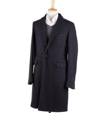 Boglioli Dark Gray Wool 'K Jacket' Overcoat
