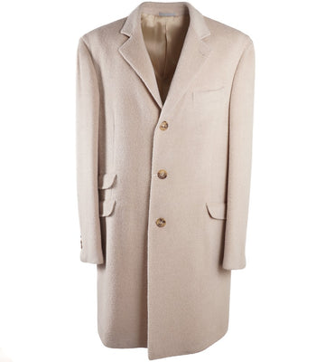 Brunello Cucinelli Alpaca and Wool Coat
