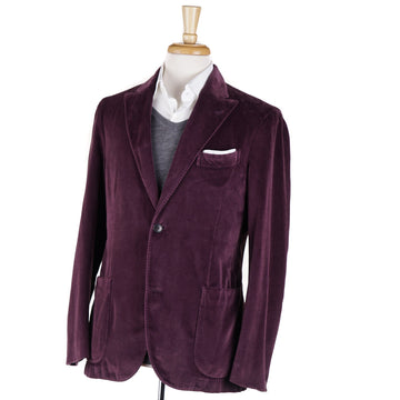 Boglioli Plum Purple Velvet Blazer - Top Shelf Apparel