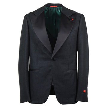 Isaia Slim-Fit Flannel Wool Dinner Jacket