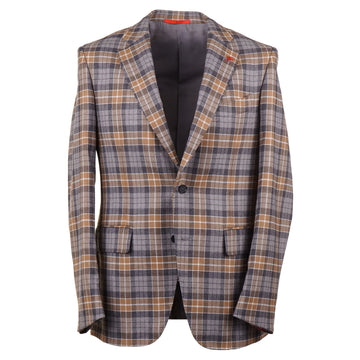 Isaia Soft Flannel Wool-Cashmere Sport Coat