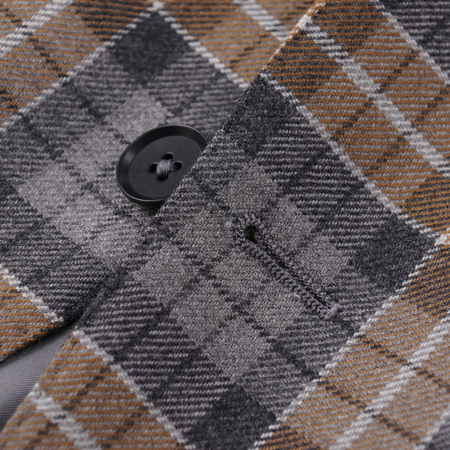Isaia Soft Flannel Wool-Cashmere Sport Coat - Top Shelf Apparel