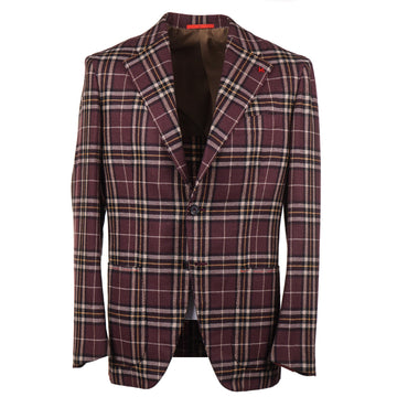 Isaia Soft Woven Cashmere-Blend Sport Coat