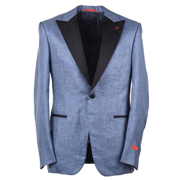Isaia Slim-Fit Dinner Jacket with Peak Lapels - Top Shelf Apparel