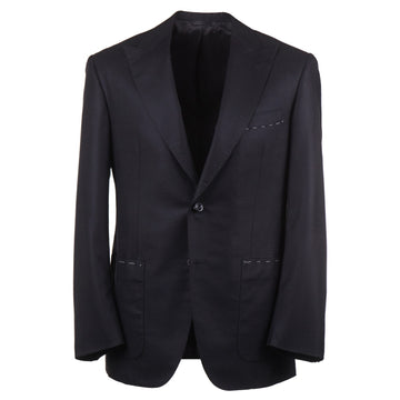 Oxxford Cashmere Sport Coat with Peak Lapels