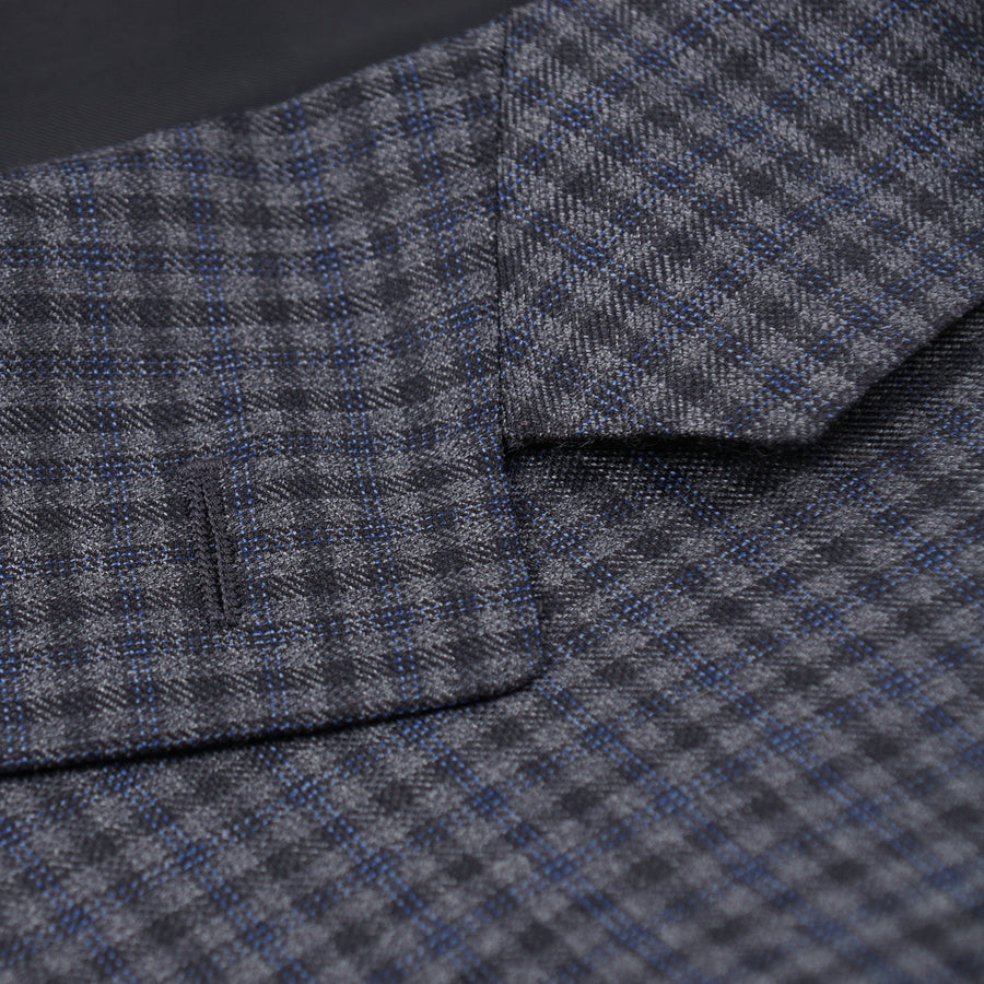 Canali Layered Check Wool Sport Coat - Top Shelf Apparel