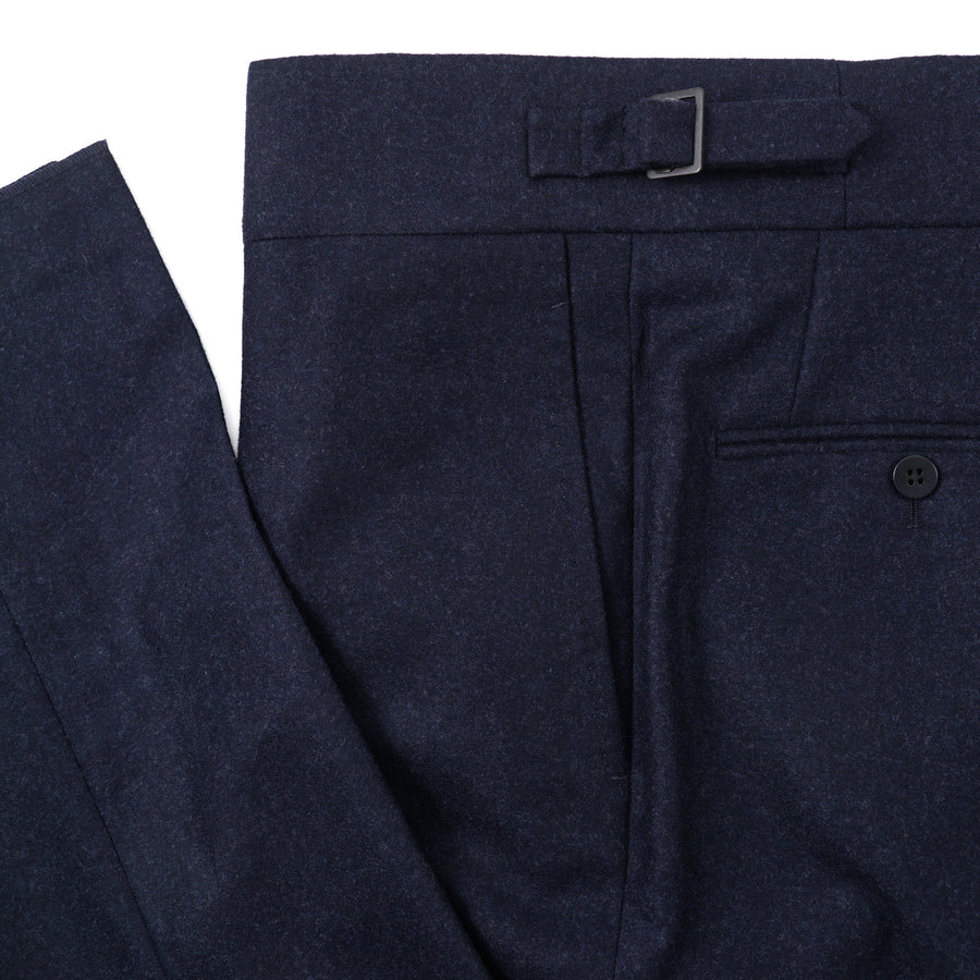 Isaia 'Casalnuovo' Flannel Wool Pants - Top Shelf Apparel