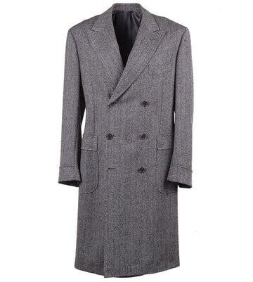 Sartoria Partenopea Slim-Fit Wool Overcoat - Top Shelf Apparel