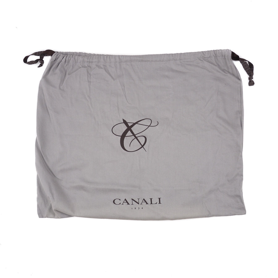 Canali Soft Grained Leather Overnight Bag - Top Shelf Apparel