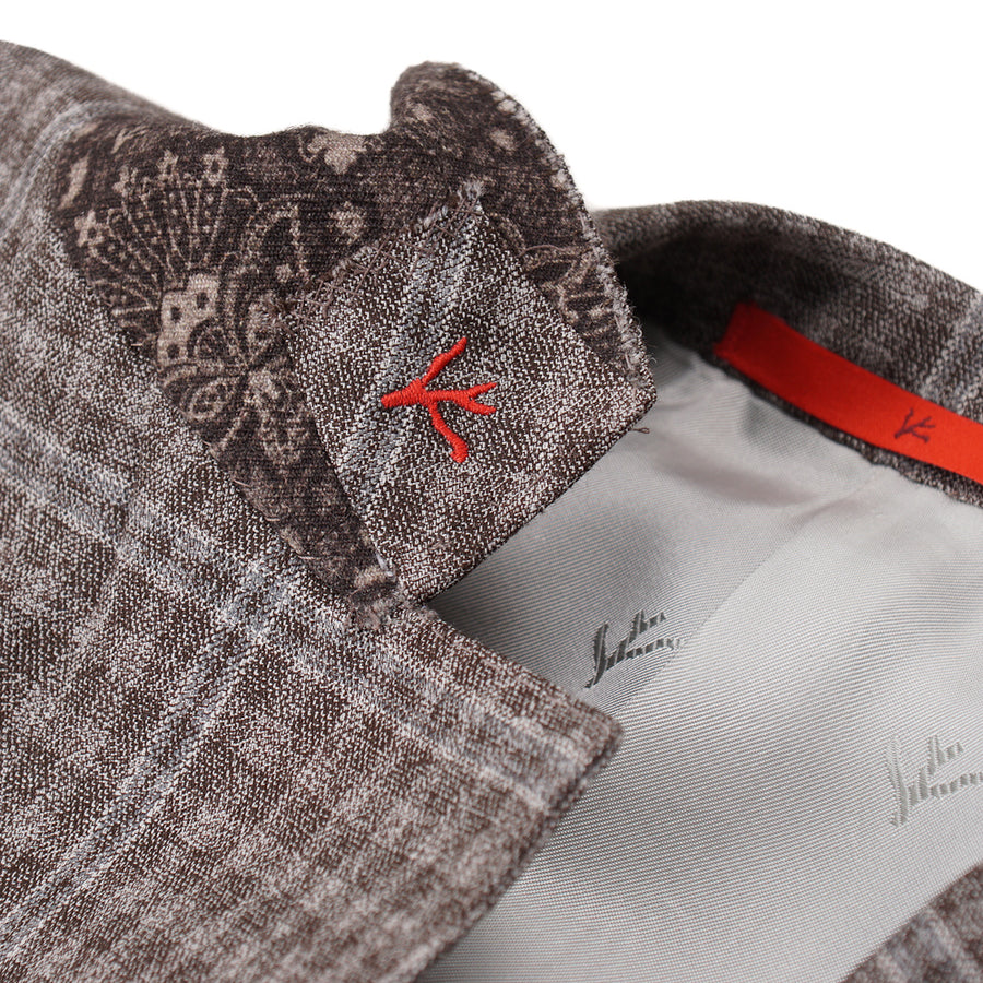 Isaia Super 140s Wool Sport Coat