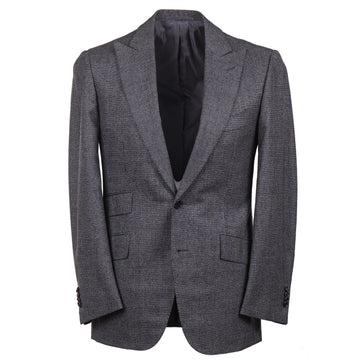 Cesare Attolini Slim-Fit Wool Suit with Peak Lapels
