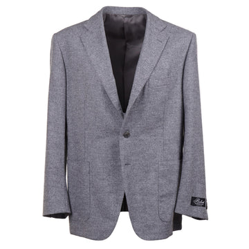 Belvest Gray Flannel Wool Sport Coat