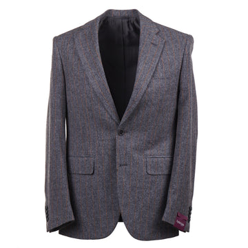 Sartoria Partenopea Chalk Stripe Flannel Suit - Top Shelf Apparel